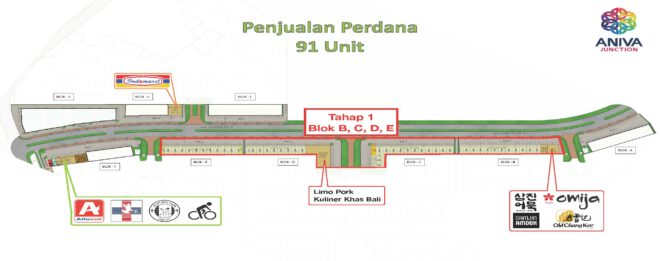 Penjualan Perdana ANIVA JUNCTION
